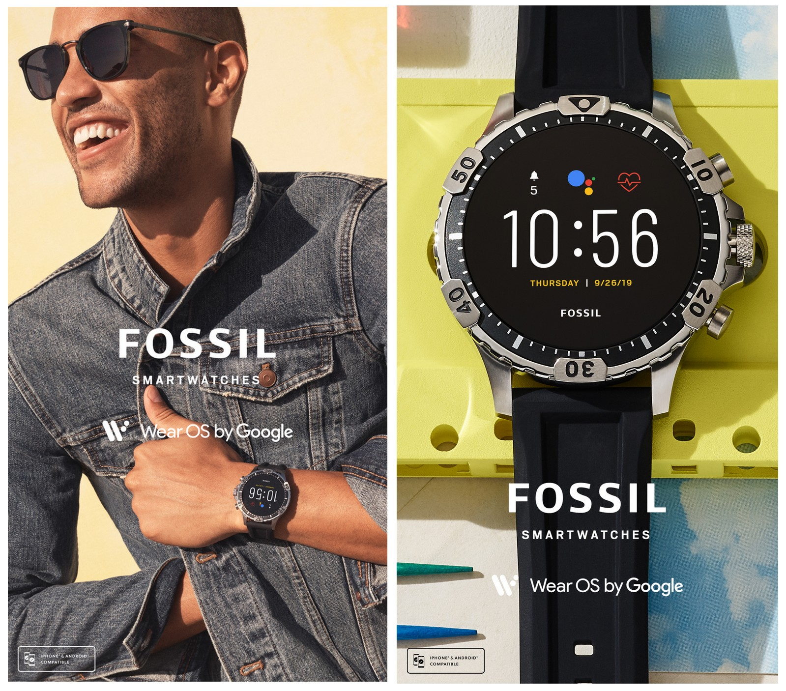 Fossil Smartwatch Men